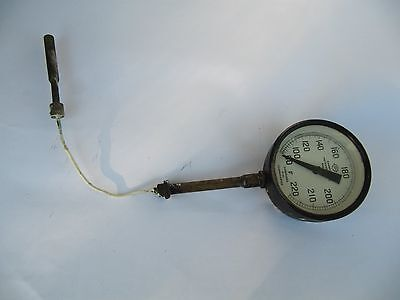 TEMPERATURE GAUGE (might be from a railway engine)