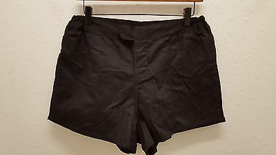"""Cotton Traders Rugby Shorts Black Sizes 30"""" + 36"""""""