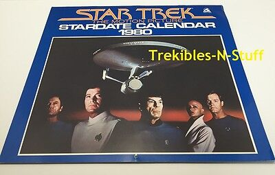 Star Trek The Motion Picture 1980 Stardate Calendar Wallaby
