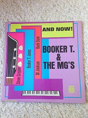 Booker T. And The MG's. And Now.1966 Original Mono LP.