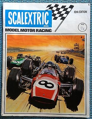 SCALEXTRIC Catalogue 10th Edition With May 1969 Price List