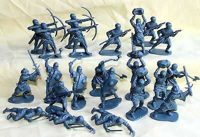 airfix 1/32 medieval  infantry plastic soldiers