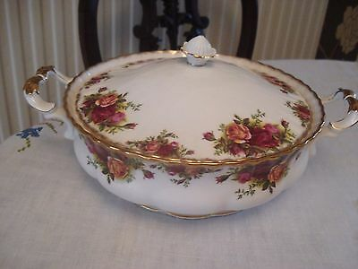 Royal Albert Old Country Roses Lidded  Vegetable Tureen  1st Quality VGC