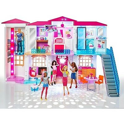 Barbie® Hello Dreamhouse that uses Wi-Fi-enabled speech recognition