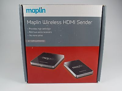 Maplin Full HD 1080p Wireless HDMI Video Sender