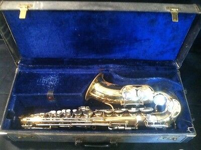 Vintage FE Olds Parisian Ambassador Alto Saxophone Made in France # I 871