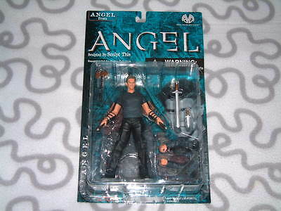 2001 Moore Action Angel Vampire face Action Figure by Sculpt This