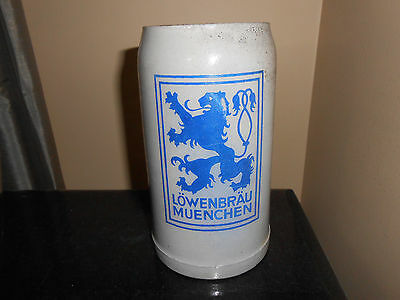 "Lowenbrau Munchen 7.5"" Beer Stein - Germany"