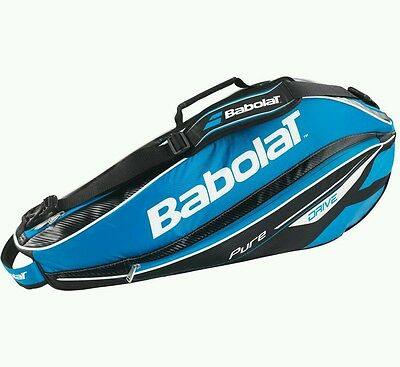 superb babolat tennis racket bag (x3) new with tags