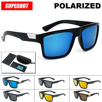 SUPERHOT NEW SP7983 The Director Sunglasses lunette gafas with case POLARIZED