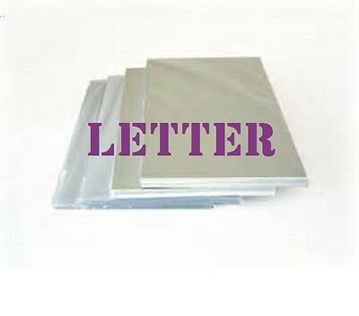 100 PK Letter Size  Laminating Pouches Sheets  9 x 11-1/2   3 Mil Free Carrier