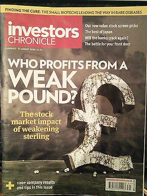Who Profits From a Weak Pound, Investors Chronicle, 5-11 August 2016