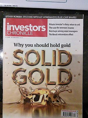 Solid Gold, Investors Chronicle, 17-23 June 2016