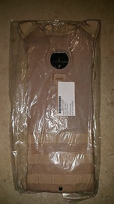 Molle II Hydration Carrier Digital Tan 3L without Bladder NEW Condition