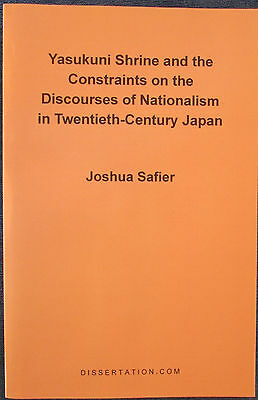 Yasukuni Shrine and the Constraints on the Discourses of Nationalism in...