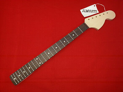 Allparts LRO FENDER Licensed Stratocaster Neck Large Headstock Rosewood F/board