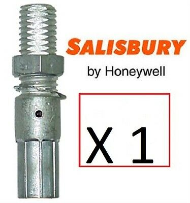 SALISBURY  2024 Compression Cable Ferrule Copper, Tin Plated Unshrouded
