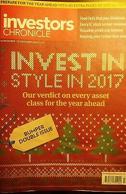 Invest In Style In 2017, Investors Chronicle, 16-29 December 2016