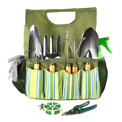 Gardening Garden Hand Tool Set - Small Mini Kit Bag - Gift Box By Plant Theatre