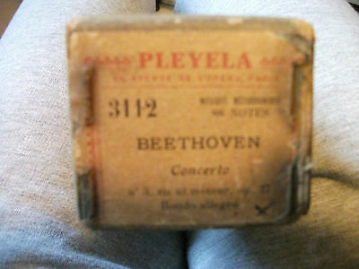 Pleyela  Partition E 3112 Beethoven