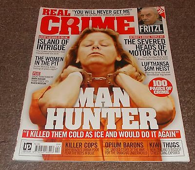 REAL CRIME MAGAZINE No.4 - AILEEN WOURNOS  FRONT COVER