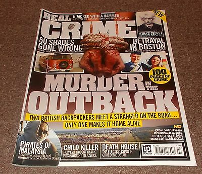 REAL CRIME MAGAZINE No.3 - MURDER IN THE OUTBACK FRONT COVER
