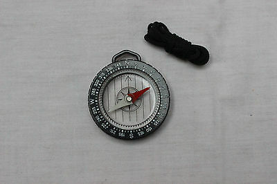 Compass on Lanyard for Scouts Camping Outdoor Map Reading Orienteering