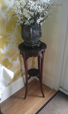 PRETTY VICTORIAN or EDWARDIAN ROUND SIDE TABLE