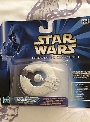 star wars Ep1 micro Die-Cast trade federation ship, sealed