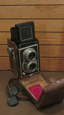 Crystar Flex TLR camera with case -For Spares