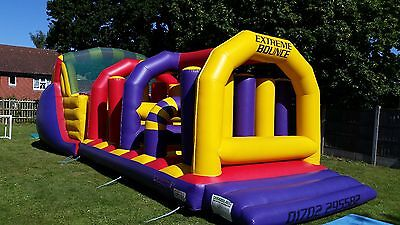 large BEETEE obstacle courses bouncy castle