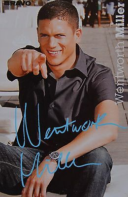 WENTWORTH MILLER - Autogrammkarte - Signed Autograph Autogramm Clippings