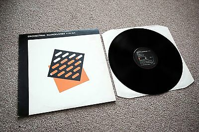 """orchestral manoeuvres in the dark - Self titled - Vinyl 12"""" LP Record"""