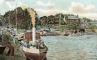 SHEPPERTON STEAMBOAT c1925 MIDDLESEX