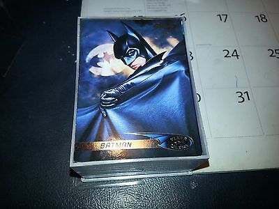 BATMAN FOREVER FLEER-ULTRA (1995) COMPLETE TRADING CARD SET Jim Carrey