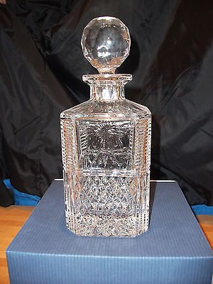 Stuart Crystal Beaconsfield Square Spirit Decanter