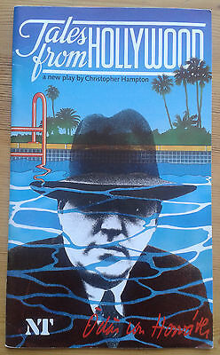 Tales From Hollywood programme National Theatre 1983 Michael Gambon Guy Rolfe