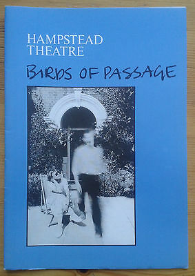 Birds of Passage programme Hampstead Theatre 1983 Belinda Sinclair Neil Pearson