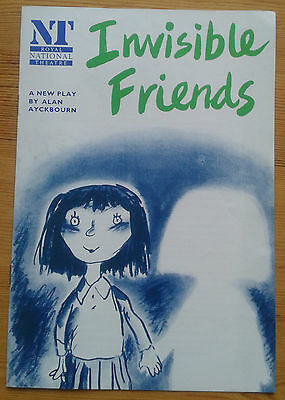 Invisible Friends programme National Theatre 1991 Emma Chambers Janet Dale