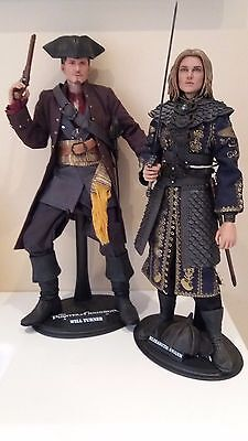hot toys PIrates of the Caribbean WILL TURNER / ELISABETH SWANN 1/6 READ PLEASE