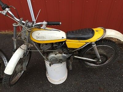 1972 Yamaha Other  Trials bikes,TWO yamaha ty80's