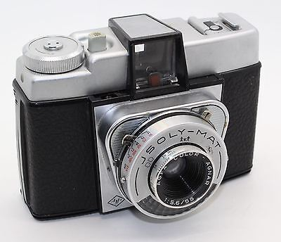 AGFA Jsoly-Mat 120 Film Camera 4x4 Exposures with case – VGC/Tested - Lomography
