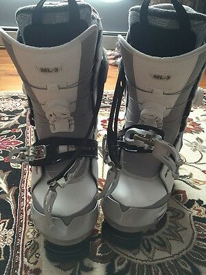 APEX SKI BOOTS ML-3 Size 25 Fits 7.5, 8