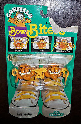 Vintage 1978 Brookside - Garfield Bow Biters - Brand New - Factory Sealed