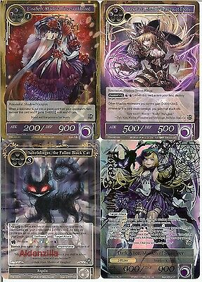Dark Alice Shadow Deck - Force of Will TCG - Maiden of Slaughter Faria Elisabeth