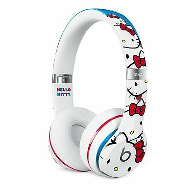 Beats! by Dre Solo 2 WIRED Hello Kitty Limited Edition Headphones