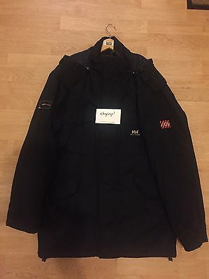 U2 x Helly Hansen 'How To Dismantle An Atomic Bomb' Mens Promo Parka - RARE