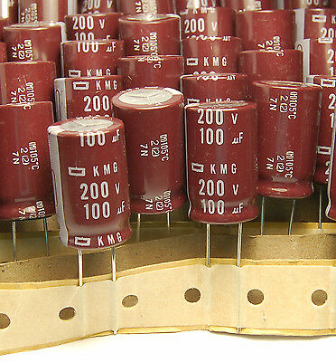2Pcs 16X25mm 100uf 200V  capacitor