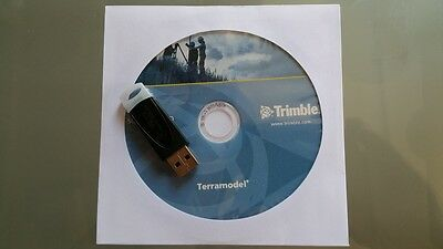 Trimble Terramodel Disk And Usb Dongle