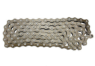 KMC Z410 Bicycle Chain 1-Speed 1/2 x 1/8-Inch 112L Brown